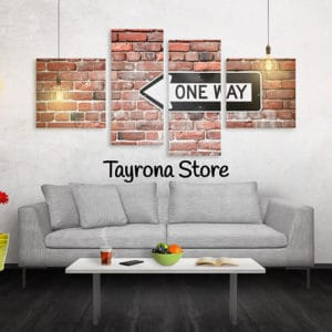 Cuadros Decorativos Tayrona Store 4 Partes One Way