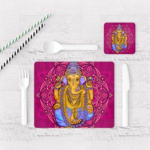 Individuales De Mesa Modernos para Comedor Ganesha 02