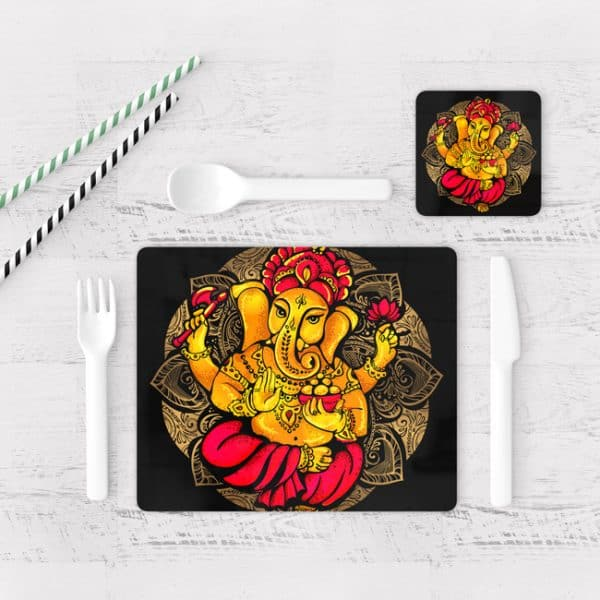 Individuales De Mesa Modernos para Comedor Ganesha 05