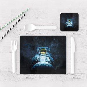 Individuales De Mesa Modernos para Comedor Astronauta 55