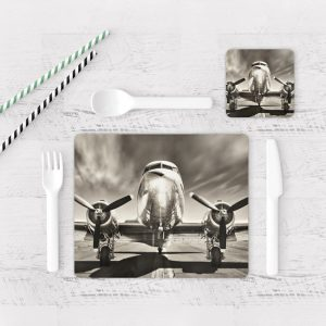 Individuales De Mesa Modernos para Comedor Avión 15