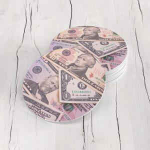 Porta Vasos Redondo Dólar 05