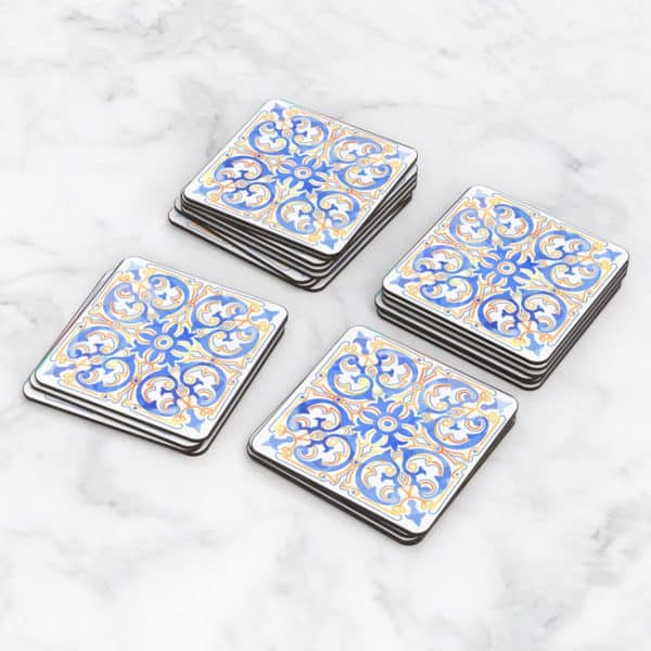 Porta Vasos Cuadrado Azulejos Portugueses 12