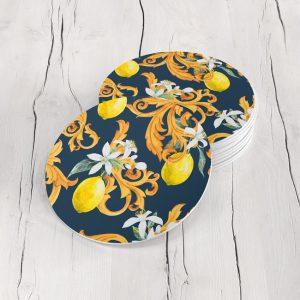 Porta Vasos Redondo Limones 07