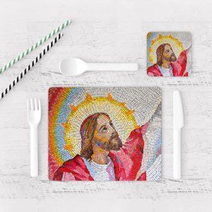 Individuales De Mesa Modernos para Comedor Jesús Cristo 11