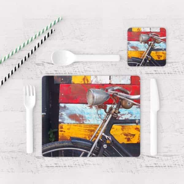 Individuales De Mesa Modernos para Comedor Bicicleta 28