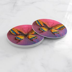 Porta Vasos Redondo Mariposa 59