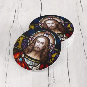 Porta Vasos Redondo Jesus Cristo 05