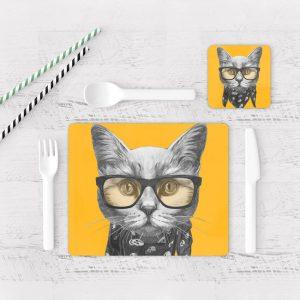 Individuales De Mesa Modernos para Comedor Gato 65