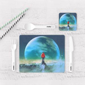 Individuales De Mesa Modernos para Comedor Fantasía 30