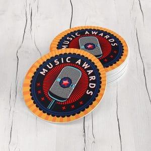 Porta Vasos Redondo Music Awards