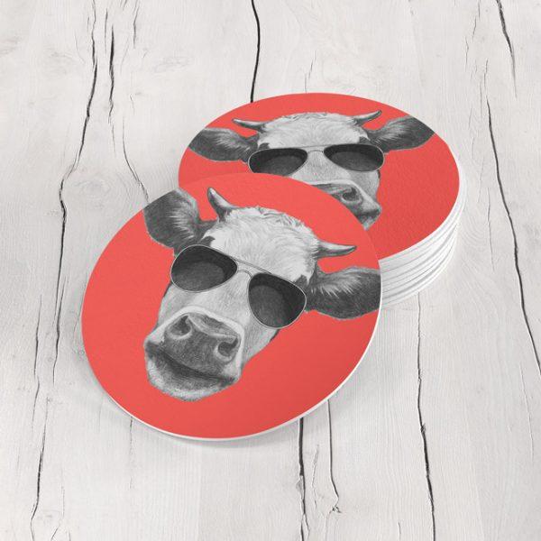 Porta Vasos Redondo Vaca 04