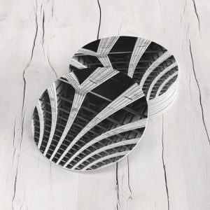Porta Vasos Redondo☕ Abstracto 111