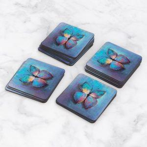 Porta Vasos Cuadrado Mariposa 57