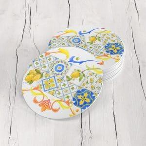 Porta Vasos Redondo Limones 06