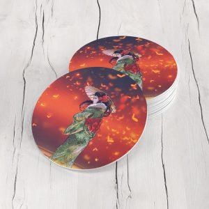Porta Vasos Redondo Geisha