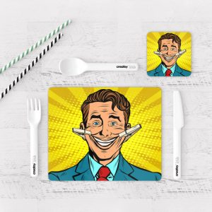 Individuales De Mesa Modernos para Comedor Comic 17