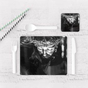 Individuales De Mesa Modernos para Comedor Jesús Cristo 13