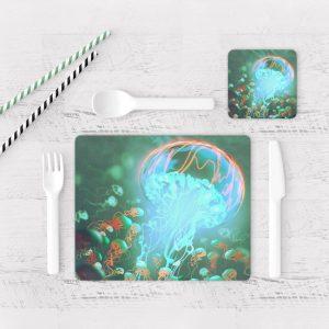 Individuales De Mesa Modernos para Comedor Fantasía 129