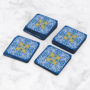 Porta Vasos Cuadrado Azulejos Portugueses 17
