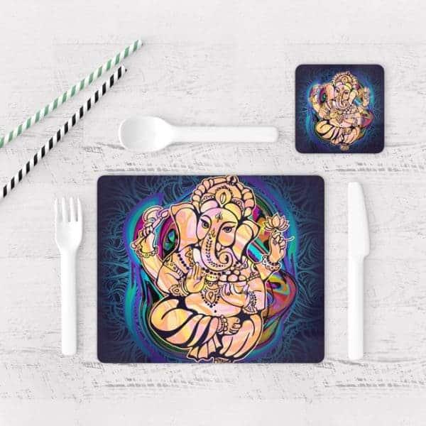 Individuales De Mesa Modernos para Comedor Ganesha 01