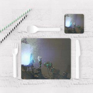 Individuales De Mesa Modernos para Comedor Fantasía 141