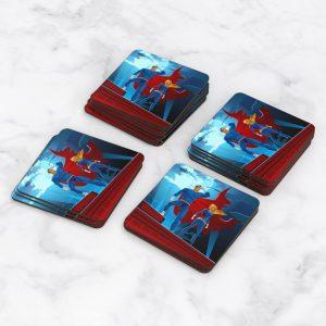 Porta Vasos Cuadrado Super Héroe 03