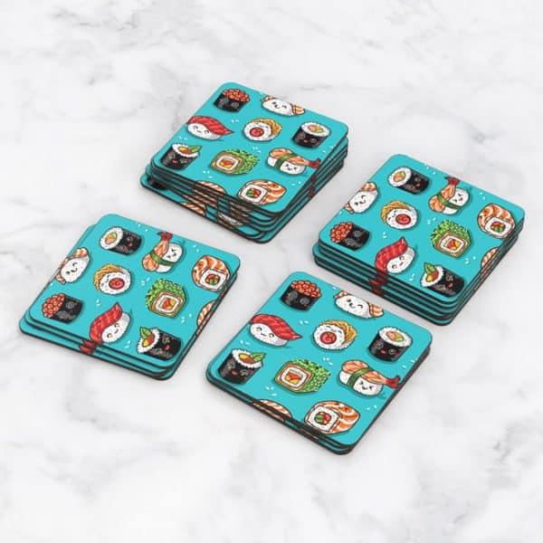 Porta Vasos Cuadrado Sushi 03