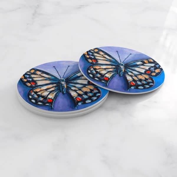 Porta Vasos Redondo Mariposa 65