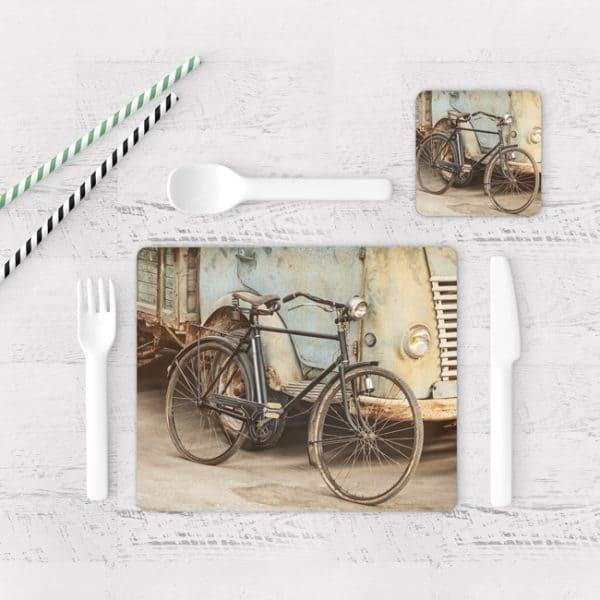 Individuales De Mesa Modernos para Comedor Bicicleta 27