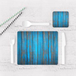 Individuales De Mesa Modernos para Comedor Textura Madera 11