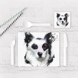 Individuales De Mesa Modernos para Comedor Perro 27