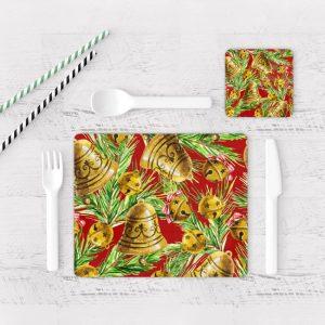 Individuales De Mesa Modernos para Comedor Navidad 71