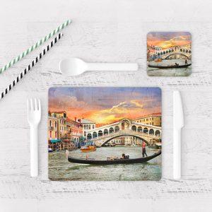 Individuales De Mesa Modernos para Comedor Venecia 39