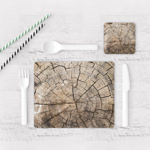 Individuales De Mesa Modernos para Comedor Textura Madera 10