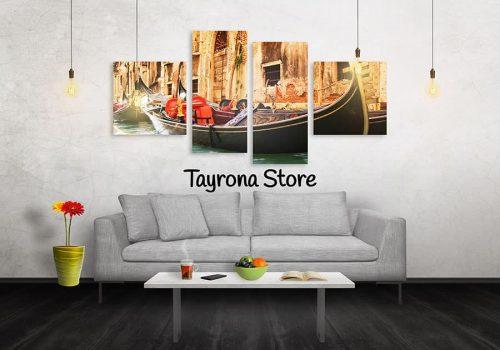 Cuadros Decorativos Tayrona Store 4 Partes Venecia 18