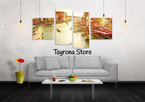 Cuadros Decorativos Tayrona Store 4 Partes Venecia 21