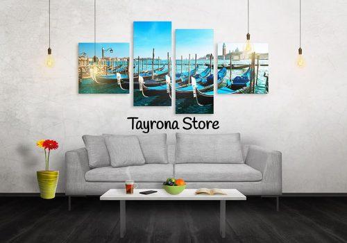 Cuadros Decorativos Tayrona Store 4 Partes Varcas Venecia 03