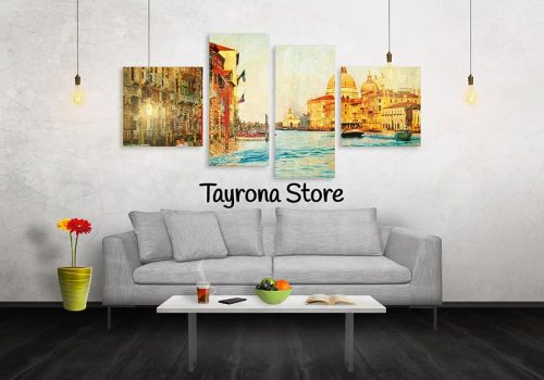 Cuadros Decorativos Tayrona Store 4 Partes Venecia 30